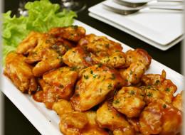 鶏胸肉の柔らか炒め バーベキューソース