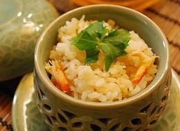 蟹缶で炊き込みご飯