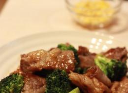 ご飯に合う 牛肉ブロッコリーのオイスター