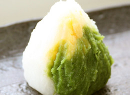 長芋の茶巾 レンジで和菓子