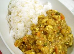 マーボードライ豆カレー