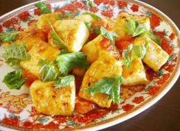 簡単 豆腐チリ