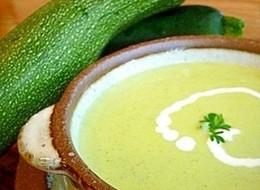 夏野菜 ズッキーニのポタージュスープ