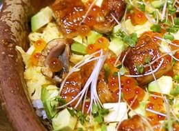 ウナギの簡単ちらし寿司