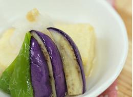 低カロリーの揚げ出し豆腐