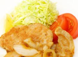 定食屋風 豚肉の生姜焼き