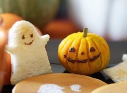 ハロウィン かぼちゃの茶巾