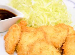 鶏むね肉で簡単絶品 一口チキンカツ
