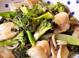 簡単中華 鱈とブロッコリーの旨塩炒め