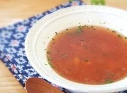 忙しい日のトマトスープ