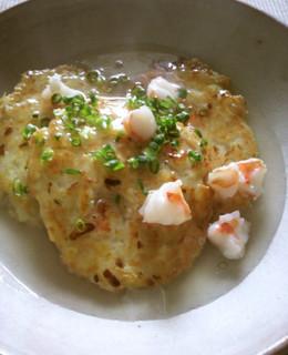 大和芋と豆腐のふわふわ焼き