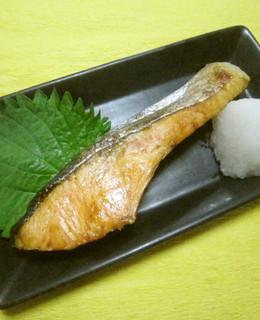 サケの塩焼き