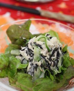 ひじきとツナのマヨサラダ