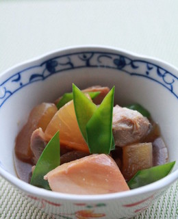 鶏肉と大根のべっこう煮
