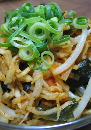食物繊維たっぷり 韓国風切干大根サラダ