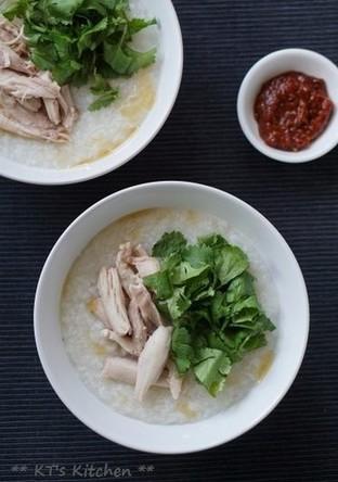 chicken congee 中華鶏粥