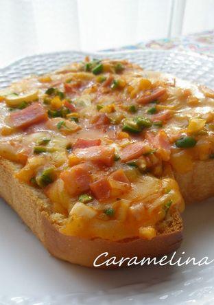 朝の定番 ピザトースト