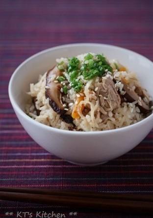 切干大根とツナの炊き込みご飯