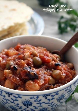 雑穀とお豆たっぷり チリコンカン