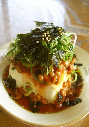 韓国風ピリ辛 納豆豆腐