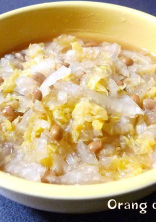 白菜と納豆のくたくた煮