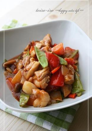合わせ調味料でパパッと簡単 酢鶏
