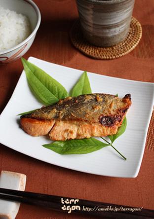 ジューシー生鮭のヨーグルト味噌漬け