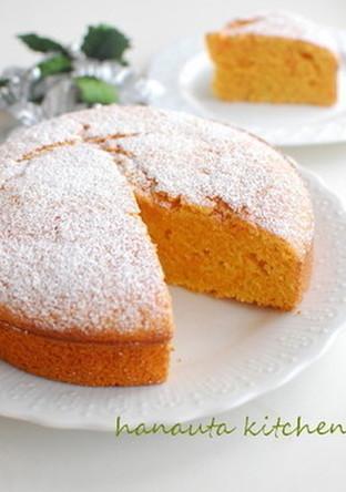 簡単おやつ にんじんケーキ