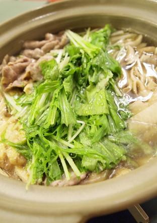 水菜使い切り 豚肉と大根のはりはり鍋