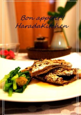 料理屋の味 太刀魚のゆず胡椒焼き
