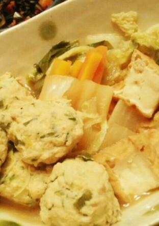 肉団子と野菜のごった煮