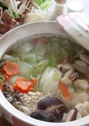 鶏肉の塩麹鍋
