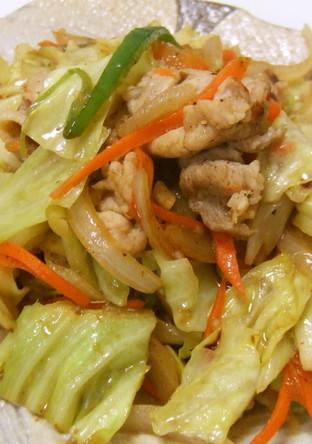 塩麹 簡単野菜炒め