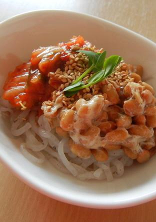 お酒がすすむ 糸こんキムチ納豆