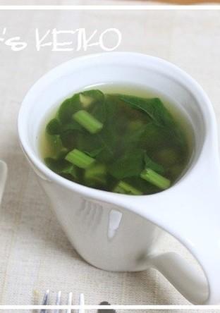 【農家のレシピ】カブの葉のコンソメスープ