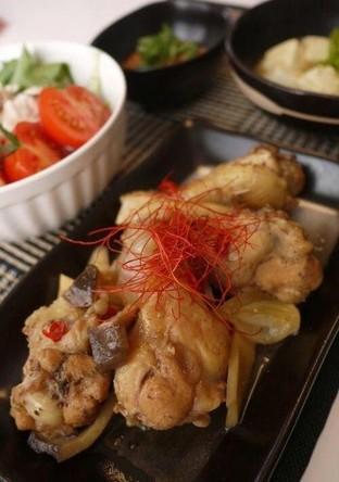 鶏手羽元の韓国風煮
