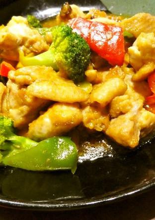 鶏の黒酢炒め