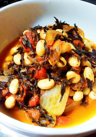 ひじきと大豆のトマト煮