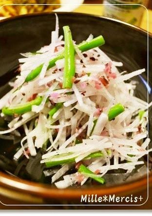 簡単 綺麗な大根サラダ