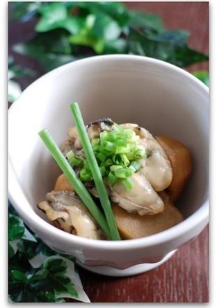 牡蠣と里芋の煮物