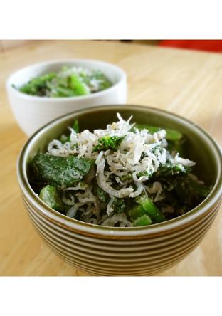 小松菜の和えもの