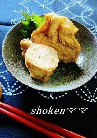 鶏ひき肉の巾着煮(お弁当にも)