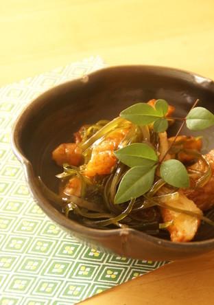 ササッと簡単切り昆布の炒め物