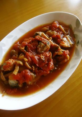 圧力鍋で作るいわしのトマト煮込み