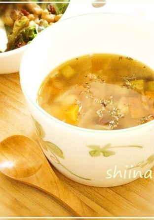 ほっこりお豆のスープ