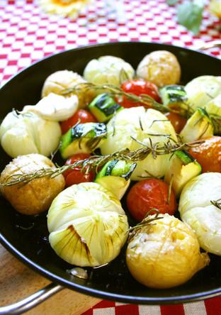 チビコロ野菜のオーブン焼き