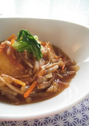 豆腐ステーキ潤いソース