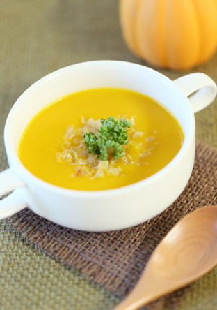 低脂肪乳でカロリー控えめ✣南瓜スープ