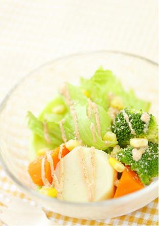 カラフル温野菜サラダ
