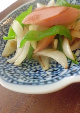 魚肉ソーセージソテー